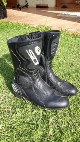 Sidi Black Rain Evo boots - size 11