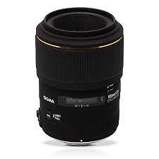 Sigma 105 mm f2.8 EX DG Macro Lens for Canon (As New)