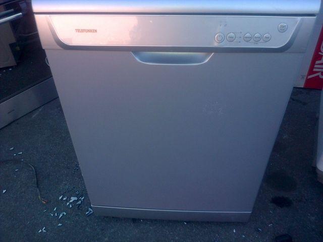 Silver Telefunken dishwasher