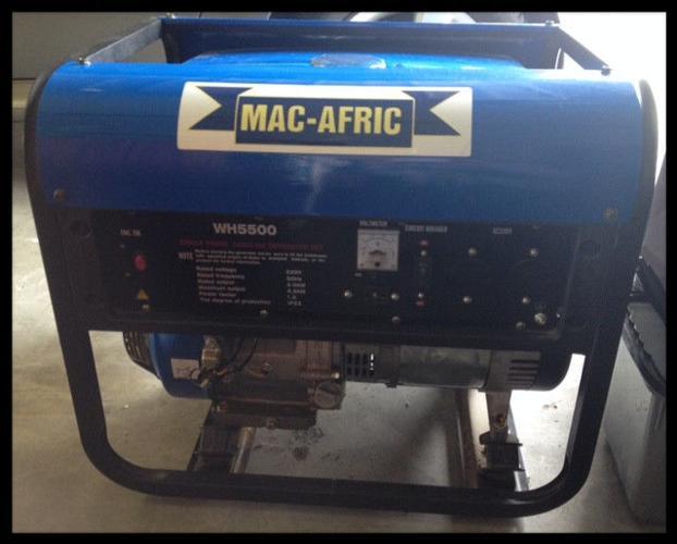 Single Phase Gasoline Generator