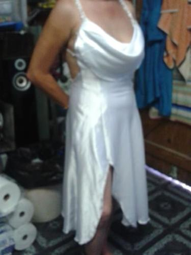 Skill white occasional dress for sale