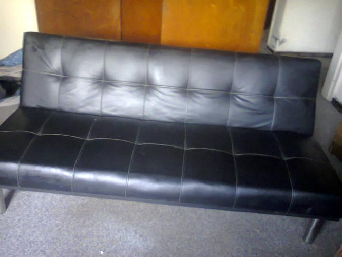 Sleeper Couch Black Leather For Sale In Pretoria Gauteng