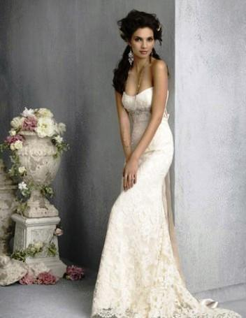 slim fitting vintage lace wedding dresses in cape town western cape