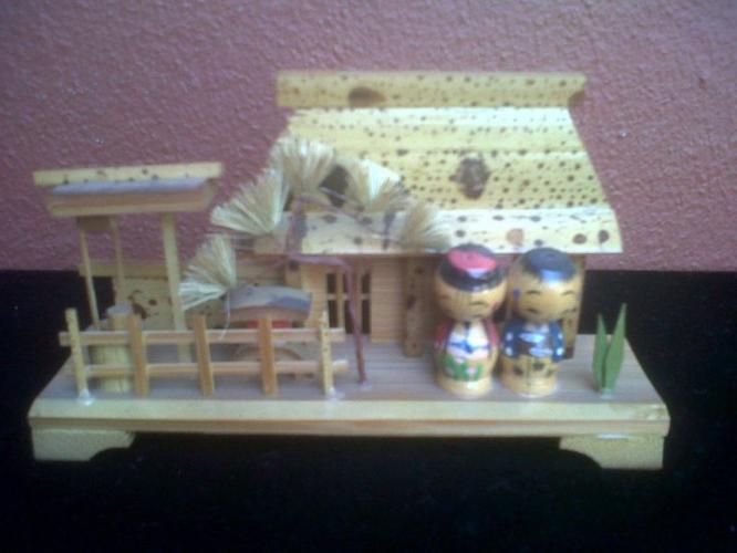 Small Ornamental Bamboo ornament