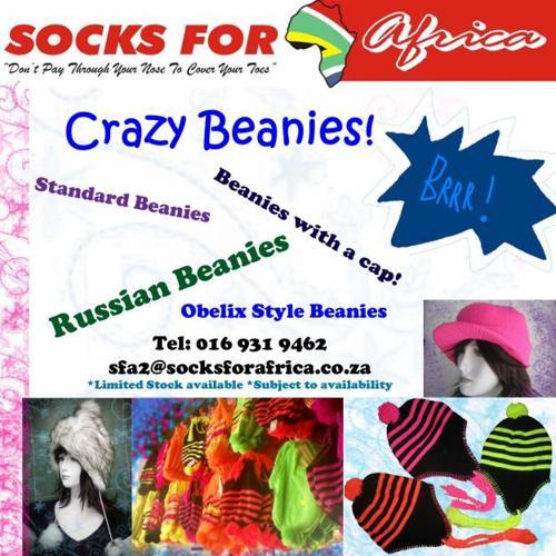 Socks For Africa - Crazy Beanies
