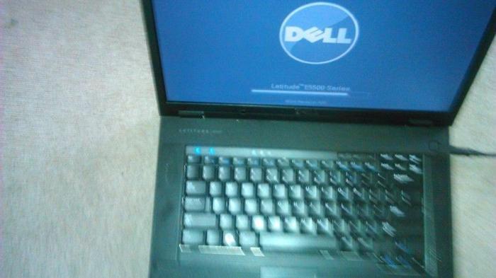 Solid Dell Latitude E5500 Dual Core widescreen laptop