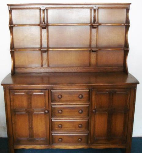 Solid Oak Antique Side Table For Sale In Johannesburg