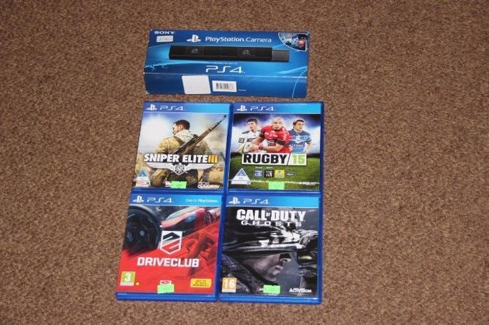 Sony PS4 games and camera sold separately for Sale in
