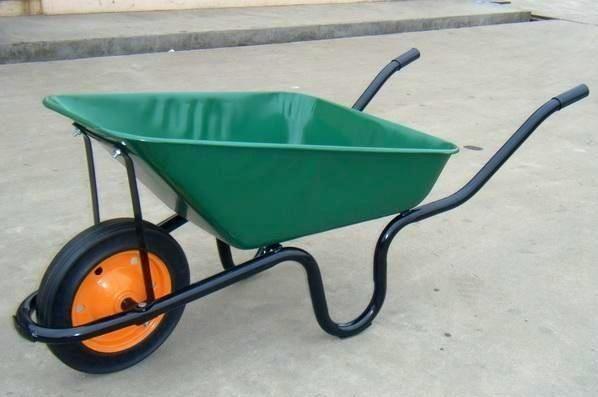 Spades,wheelbarrow,shovels