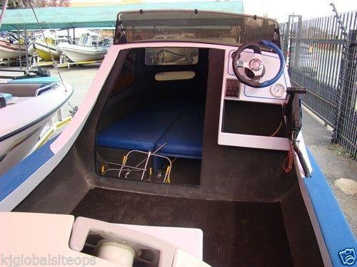 Sportsman cabin with 90hp Johnson 2-stroke with T/T -