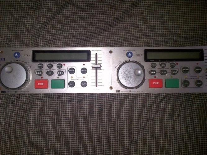 Stanton S500 dual tray dj cd players