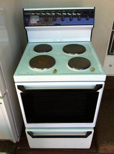 Stove, fridge and Freezer for Sale-great for start up