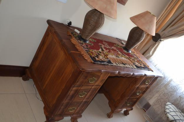 Study Table Ball Amp Claw Kiaat Wood For Sale In