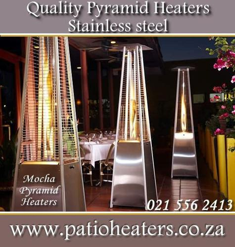 Stylish, Quality Pyramid flame outdoor Patio heater,