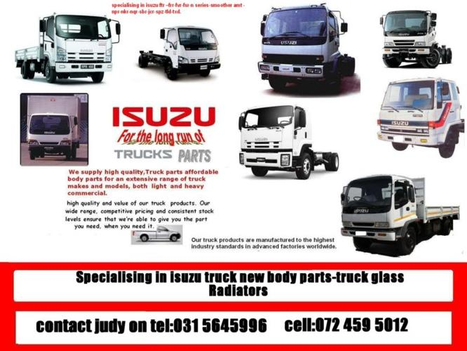 Suppliers Of Isuzu Truck New Body Parts Radiators For