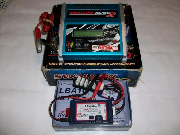 SWALLOW 2 AC/DC CHARGER AND HYPERION LIPO BALANCER