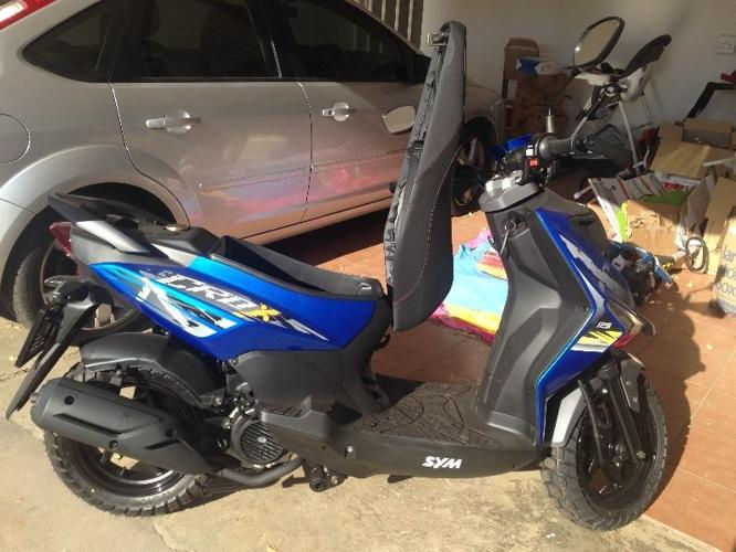 SYM Crox 125cc Scooter  3km on the clock  R 12,950  for Sale