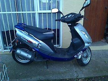 SYM JET 100cc 2 Stroke Scooter for sale