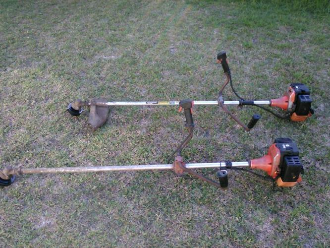 Tanaka tbc 550 weed eater brush cutter x2