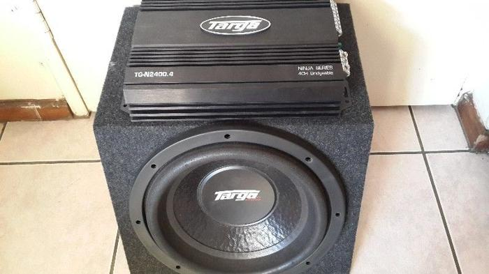 Targa 4ch amp and sub for Sale in Mount Edgecombe, KwaZulu