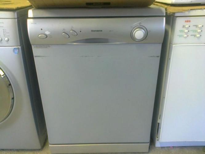 Telefunken 12 Place Dishwasher TDW120S Silver