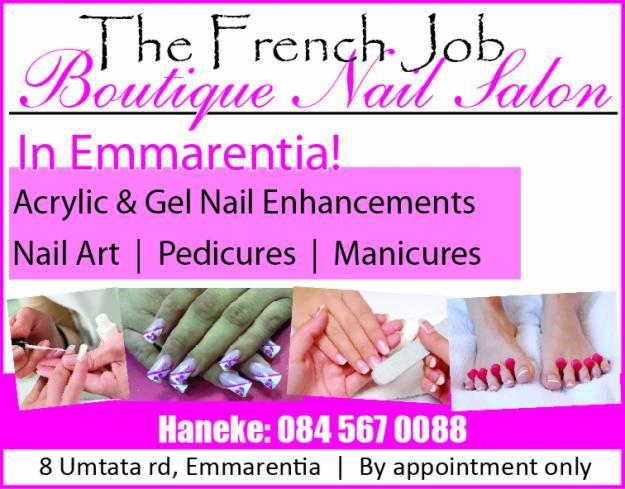 The french job nail salon acrylic gel nails from r230 for Acrylic nail salon prices