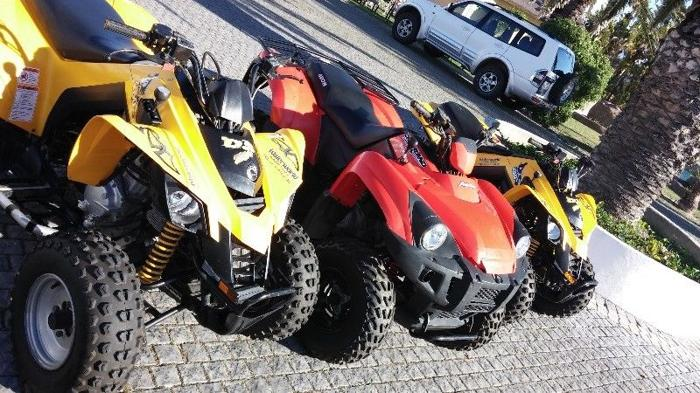 Three Quads for sale: Can-am x 2 and Aeon Crossland