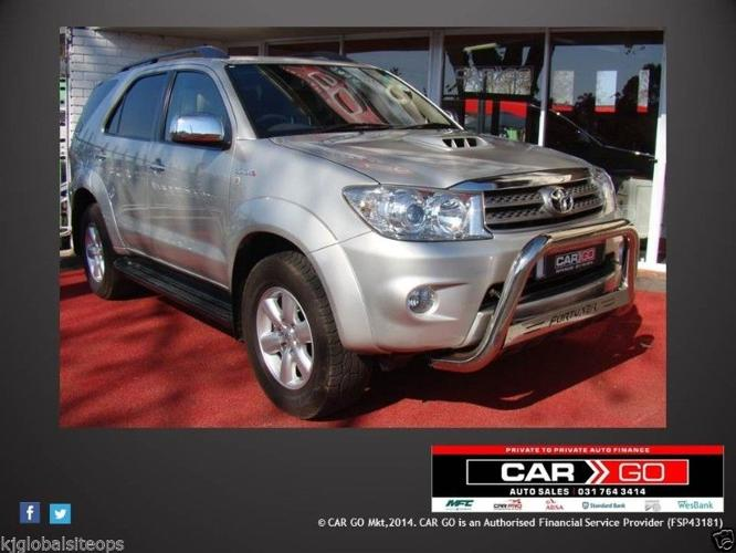 Toyota Fortuner 3.0 D4D New Spec (Silver) - Year 2009
