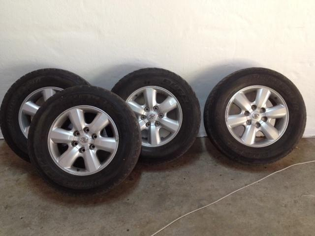Toyota Fortuner/Hilux mags
