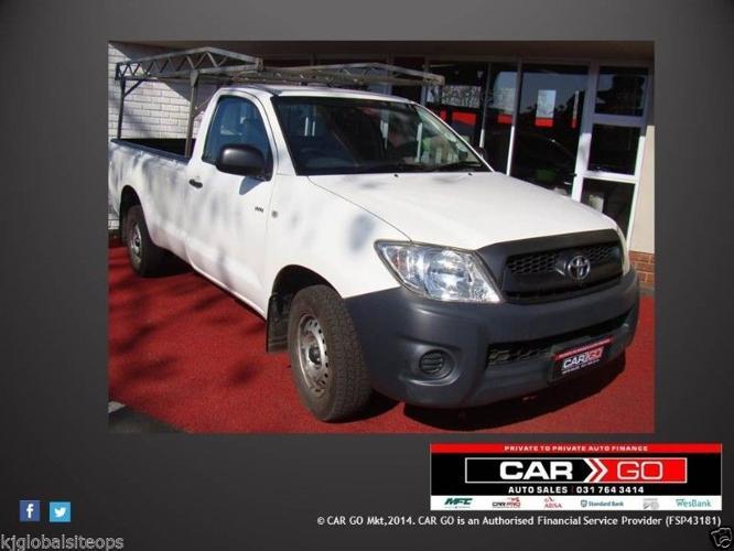 Toyota Hilux 2.0 VVT-i S/CAB LWB Pick-Up - Year 2010