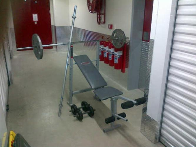 Trojan combo exercise bench for sale in cape town