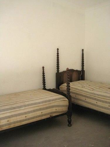 Two Antique single beds