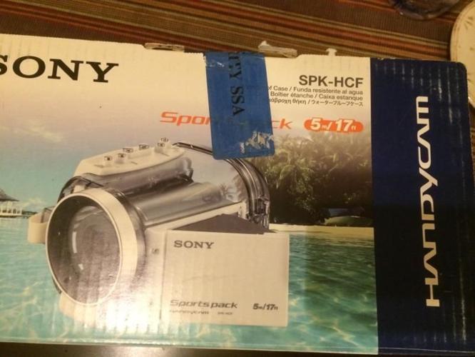Underwater housing for Sony Handycams