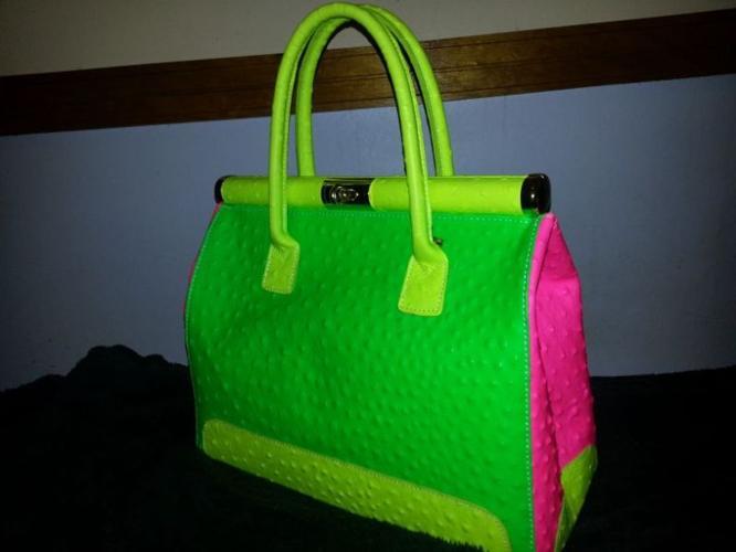 Unique Ostrich leather handbags for sale