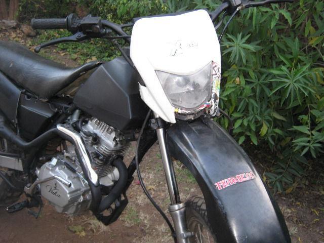 Various Bikes : Vuka 125 - Off Rd Scrambler, Yamaha 660