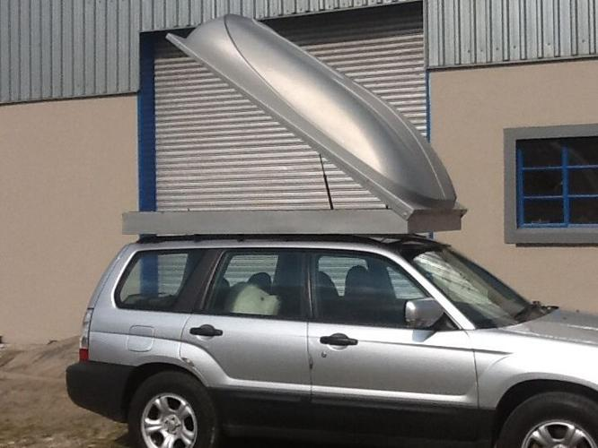 VEBI trailers , roof racks boxes