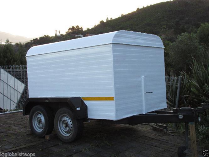 Venter 2Ton double axle box trailer.