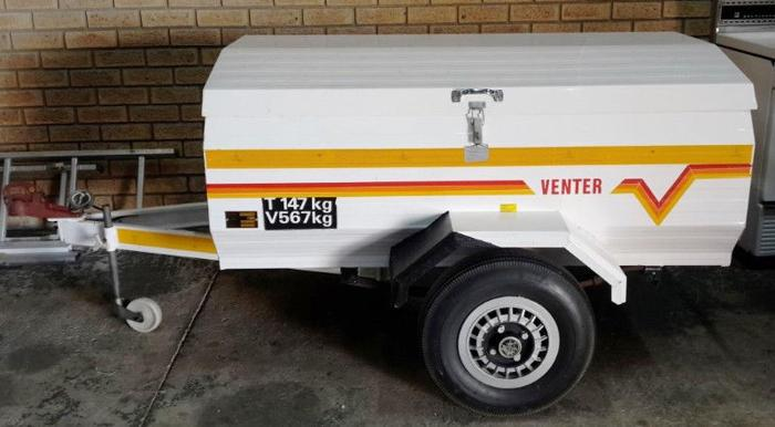 Venter Trailer For Sale - Immaculate Condition