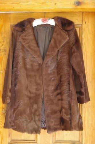 VINTAGE COWHIDE COAT