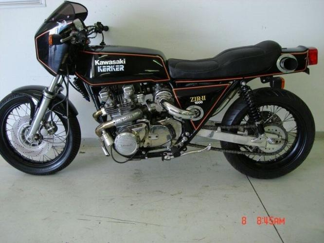 Vintage Kawasaki Z1R Turbo - Cafe Racer
