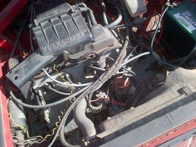 Volkswagen Jetta MK1-1600cc Engine and 4 speed gearbox for