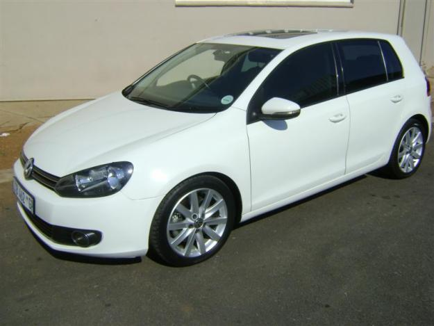 vw golf 6 1 4 tsi highline 118kw for sale in vereeniging. Black Bedroom Furniture Sets. Home Design Ideas