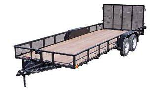 WANTED!!! Double Axle car trailer.