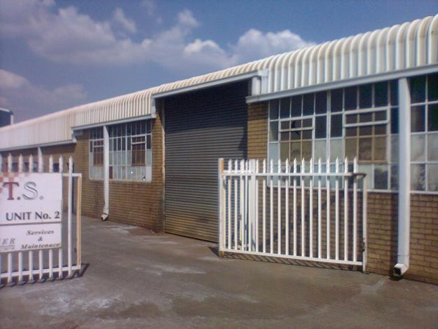 Warehouse/factory to let in Wadeville