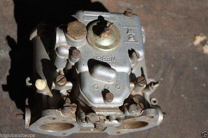 Weber Carburettor's