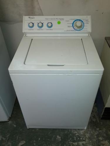 Whirlpool super capacity plus washer