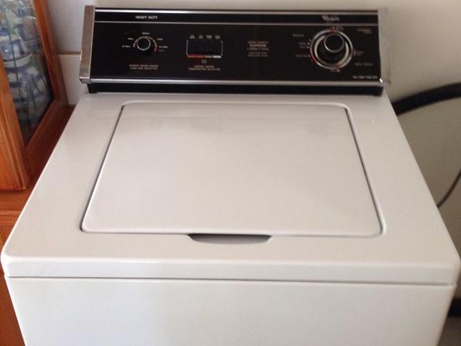 estate whirlpool washing machine