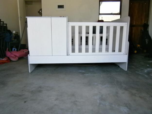 White baby room in a box