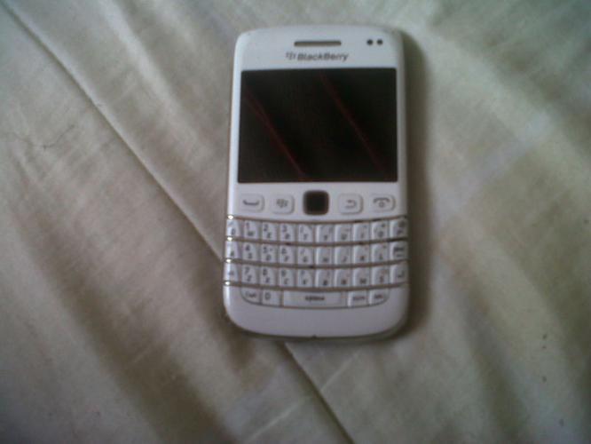 White Blackberry 9790