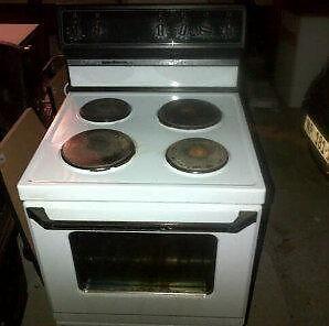 white defy stove
